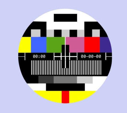 No program - Final Fuse - television transmission - program - frequency band - Color TV