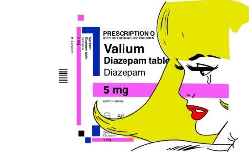 Valium 50 tabletes Diazepam