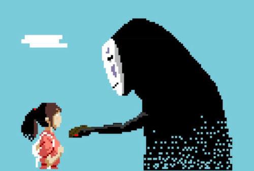 Spirited Away - Sen to Chihiro no kamikakushi - hayao miyazaki japan Studio Ghibli Pixar Japan Photo Wall Picture Poster