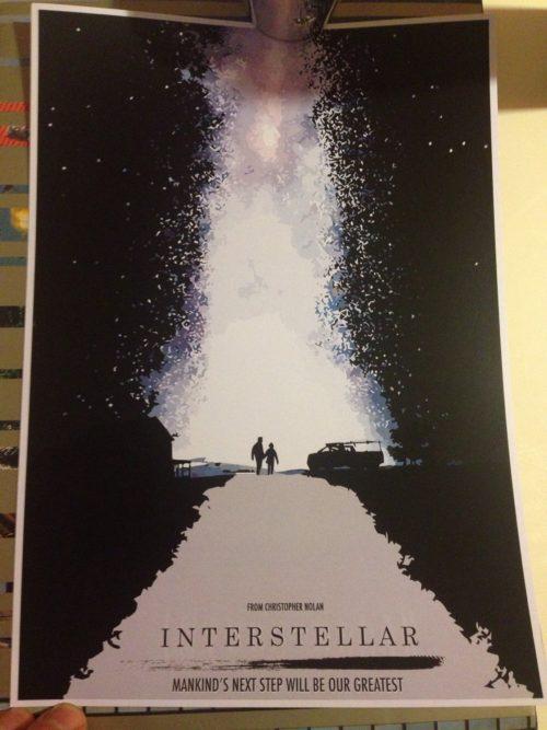 Interstelar plakat
