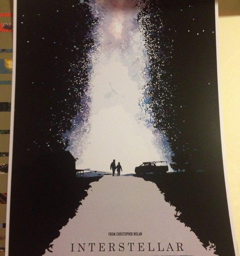 INTERSTELLAR Movie PHOTO Print POSTER Textless Film Art Christopher Nolan 006
