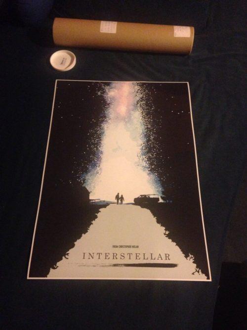 Cinema poster interstellar